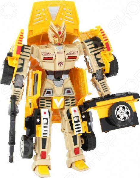 Робот-трансформер Taiko Storm «Кибербот» со светозвуковыми эффектами. В ассортименте