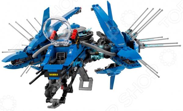 Конструктор игрушечный LEGO «Самолет-молния Джея»