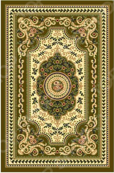 Ковер прямоугольный Kamalak tekstil «Ренессанс». Цвет: зеленый - артикул: 1602636