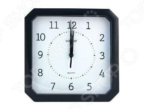 Часы настенные Vigor К-28 «Классика в черном»