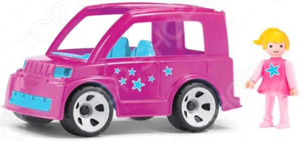 Машинка игровая Pokeeto «Городской автомобиль и водитель»