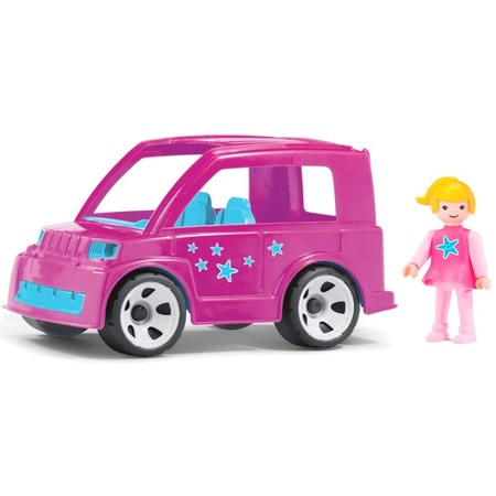 Купить Машинка игровая Pokeeto «Городской автомобиль и водитель»