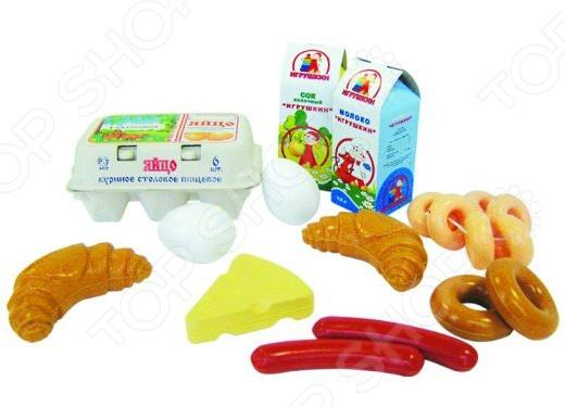 все цены на Игровой набор для ребенка Пластмастер «Полдник» онлайн