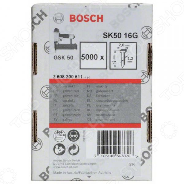 Набор штифтов с потайной головкой Bosch SK50 16G