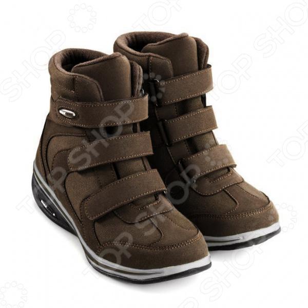 Ботинки демисезонные Walkmaxx Wedge. Цвет: коричневый