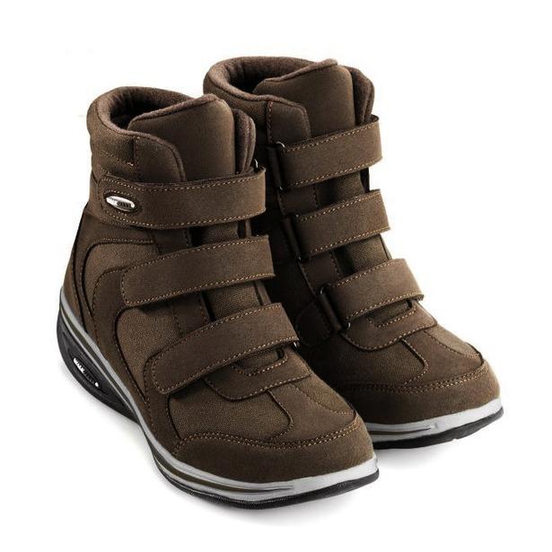 фото Ботинки демисезонные Walkmaxx Wedge. Цвет: коричневый