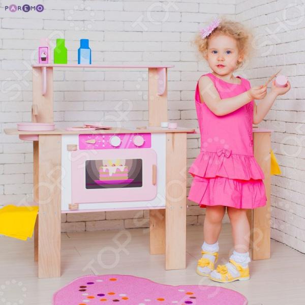Кухня детская с аксессуарами PAREMO «Ванильный Смузи»