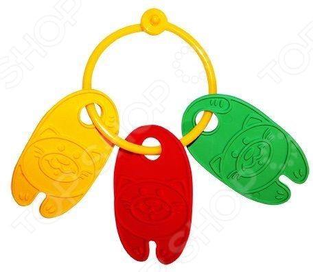 Игрушка-прорезыватель Пластмастер Котята классные незаменимая вещь, когда у малыша начинают резаться зубки. Изделие также можно использовать в качестве погремушки или подвесить над кроваткой. Изготовлено из мягкого пластика с учетом возрастных особенностей, поэтому безопасно для ребенка. Яркое оформление порадует и привлечет внимание малыша.