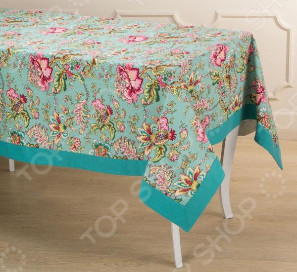 Скатерть Santalino «Райский сад» 850-818-2 сидушка на стул santalino райский сад 850 818 5