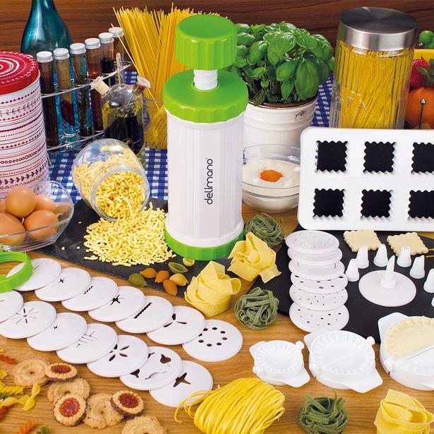 фото Набор для изготовления пасты и печенья Delimano