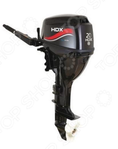 Лодочный мотор 4-х тактный HDX F 20 AFWS лодочный мотор 2 х тактный titan tp70aehdl