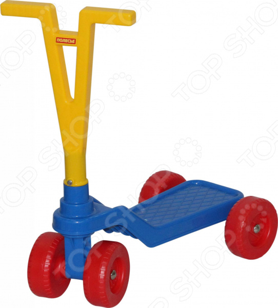 Самокат четырехколесный POLESIE детский