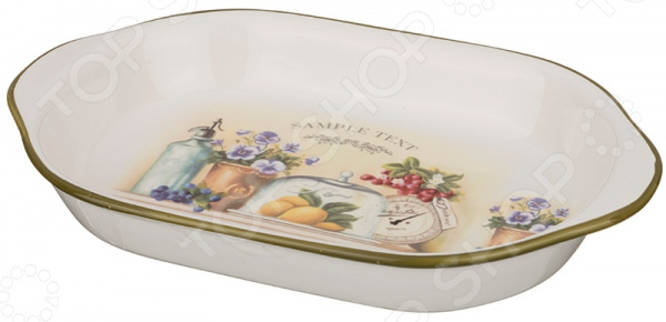 Шубница Agness «В саду» 358-975 блюдо agness 546 055