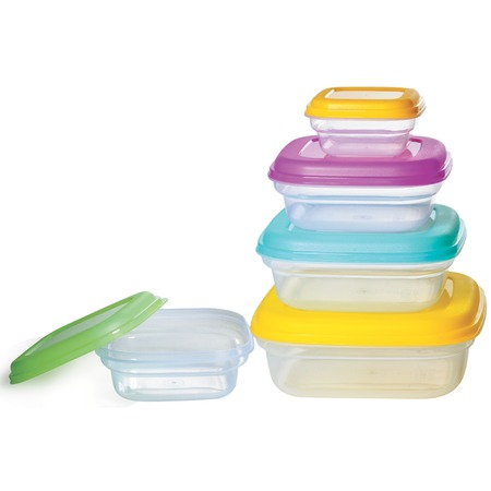 Купить Набор контейнеров для продуктов «Компакт». Форма: квадратные