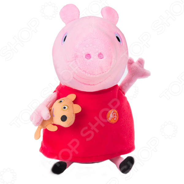 Zakazat.ru: Мягкая игрушка со звуком Peppa Pig «Пеппа с игрушкой»