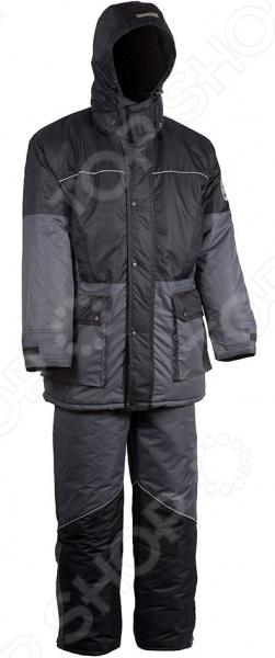 Костюм для рыбалки и отдыха зимний Huntsman Nylon Taslan «Арктика» костюм huntsman арктика тк nylon taslan со снегозащитными гетрами ark 100 976 серый черный