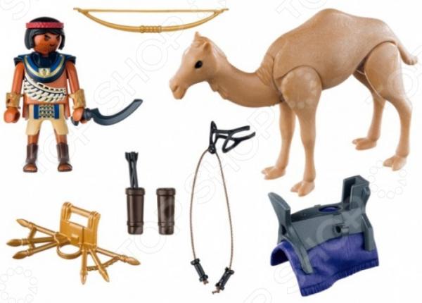 Конструктор игровой Playmobil «Римляне и Египтяне: Египетский воин с верблюдом»