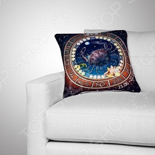 Подушка декоративная МарТекс «Рак»