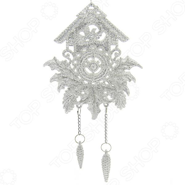 Елочное украшение Crystal Deco «Часики»