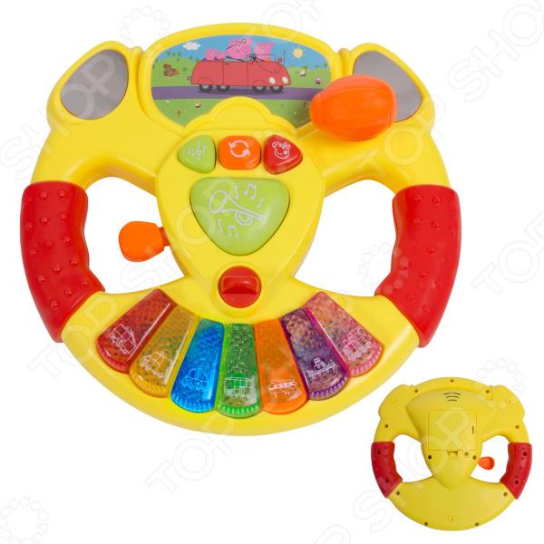 Музыкальная игрушка Peppa Pig «Руль». В ассортименте