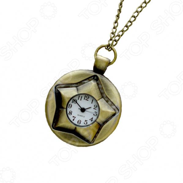 Кулон-часы Mitya Veselkov «Звезда в круге»
