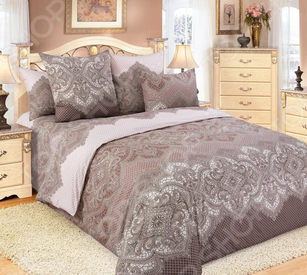 Комплект постельного белья Королевское Искушение «Полонез». Евро