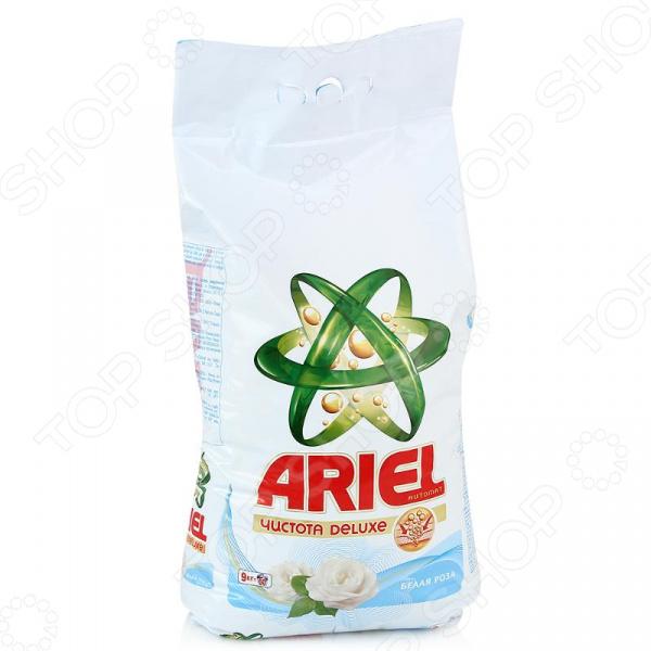 Порошок стиральный Ariel «Белая роза»