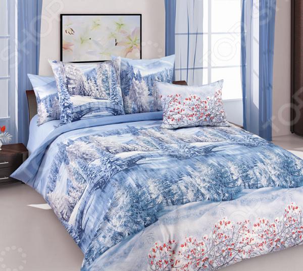 Комплект постельного белья Королевское Искушение «Зима». 2-спальный