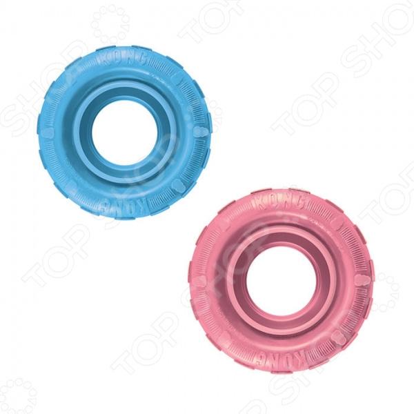 Игрушка для щенков Kong Puppy «Шина». В ассортименте трикси игрушка для собак щенок 8 см латекс цвет в ассортименте