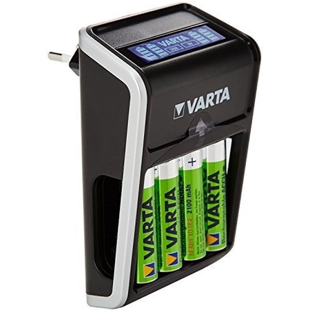 Купить Устройство зарядное для аккумуляторов VARTA LCD Plug Charger