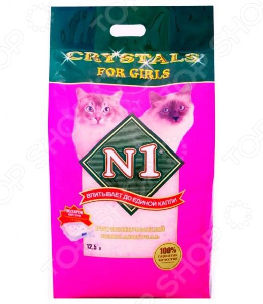 Наполнитель для кошачьего туалета Crystals For Girls 92214