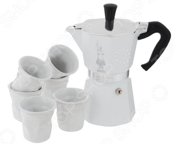 Набор для кофе Bialetti SET Moka White 4030