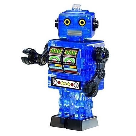 Купить Пазл 3D Crystal Puzzle «Робот cиний»