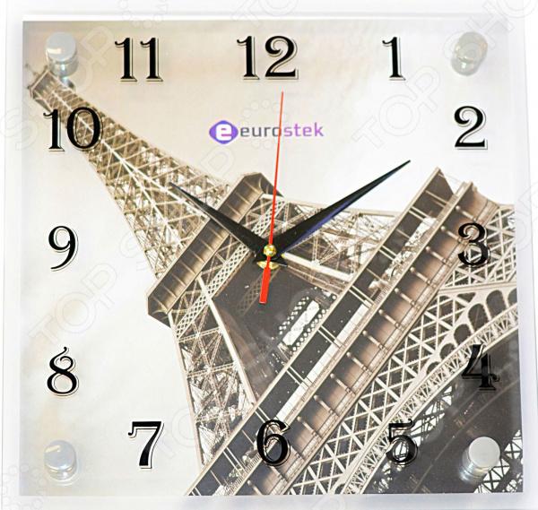 Часы настенные Eurostek «Эйфелева башня» 2525-09