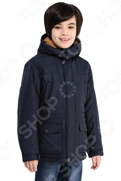 Куртка детская Finn Flare Kids KB17-81001J. Цвет: темно-синий