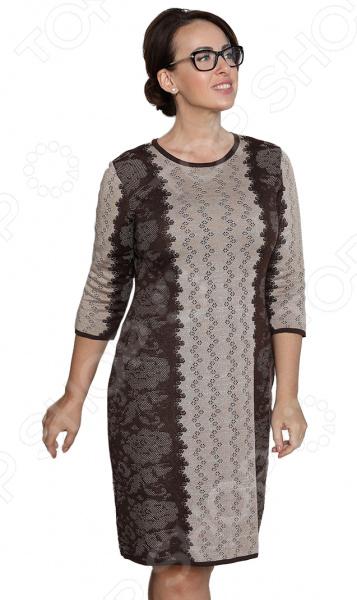 Платье Milana Style «Воплощение мечты». Цвет: коричневый milana style milana style mi038ewivh60