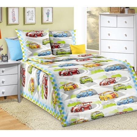 Купить Детский комплект постельного белья ТексДизайн «Гонки»