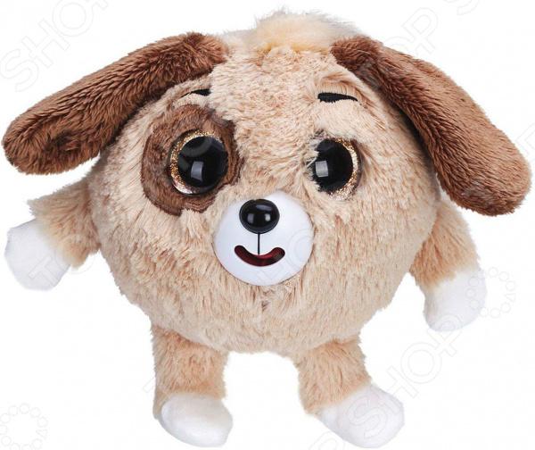 Мягкая игрушка интерактивная 1 Toy Дразнюка-Zooка «Собачка коричневая» собачка интерактивная с аксессуарами