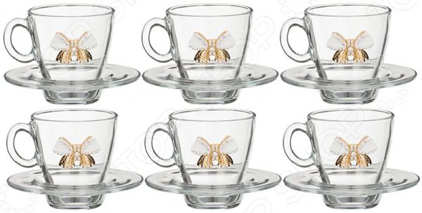 Чайная пара 802-510739 наборы для чаепития pavone чайная пара грациозо
