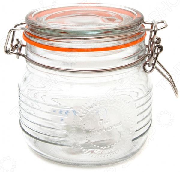 Банка для сыпучих продуктов Banquet Crystal с клипсой банка для специй banquet crystal с клипсой 3 л