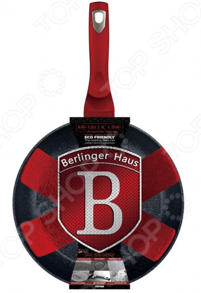 Сковорода Berlinger Haus Burgundy Metallic