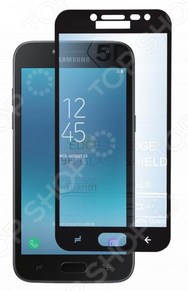 Стекло защитное skinBOX Full Screen для Samsung Galaxy J2 (2018) аксессуар защитное стекло для samsung galaxy j2 2018 neypo full screen glass white frame nfg3963