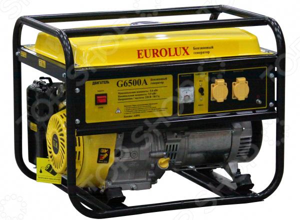 Генератор бензиновый Eurolux G6500A