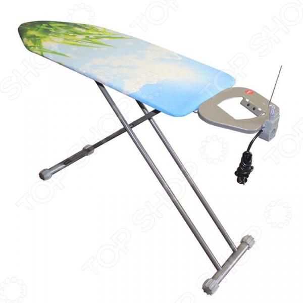 Доска гладильная HITT Long Board доска гладильная hitt skyboard 120 х 38 см