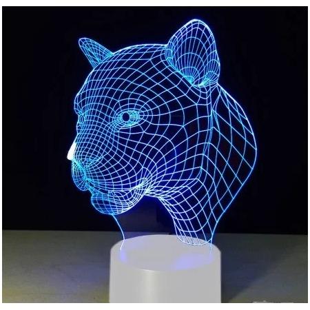Купить Светильник 3D «Леопард»
