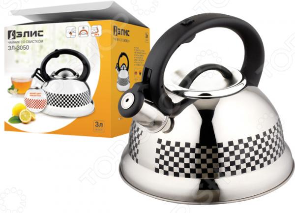 Чайник со свистком Элис ЭЛ-3050 блендер элис эл 603м