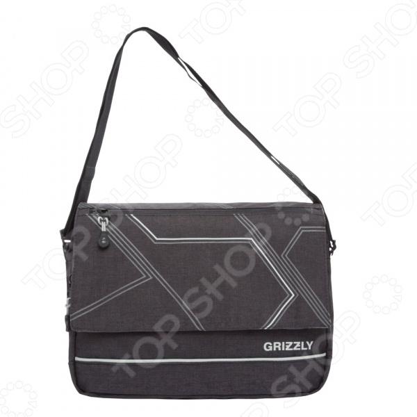 Сумка молодежная Grizzly MM-805-4 самый популярный в этом сезоне аксессуар, который кроме практической ценности поможет добавить изюминку в ваш стиль. Эта модная вещь подойдет для учебы, прогулок и поездок.  Функциональные особенности  1 отделение;  клапан на липучках с карманом на молнии;  объемный передний карман на молнии;  внутренний карман для ноутбука планшета;  внутренний карман на молнии;  регулируемый плечевой ремень.