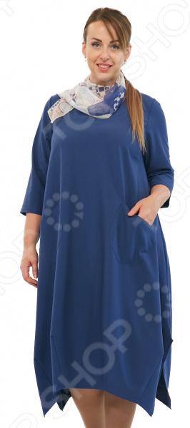 Платье Pretty Woman «Сивилла». Цвет: джинсовый