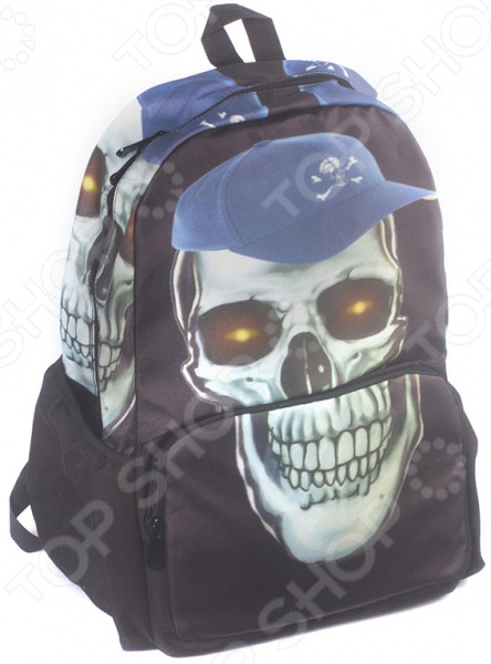 Рюкзак с наушниками 3D Bags «Роджер-Бейсболка»