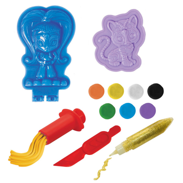 Набор для лепки из теста Nickelodeon «Волшебство Шайн» полка настенная наоми